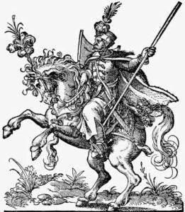 Tenue de Tai Chi - Hussard hongrois du 16ème siècle