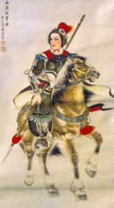 chinoises kungfu Femmes Hua Mulan Ancien