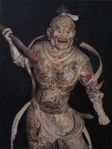 Jingang-Taiji-Quan-Chen-Gardien-des-Cieux-Sculpture